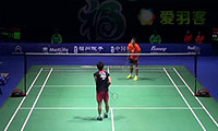 王睁茗VS上田拓马 2014中国公开赛 男单1/16决赛视频
