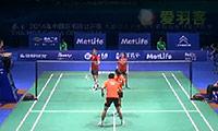 徐晨/马晋VS山姆/克洛伊 2014中国公开赛 混双1/16决赛视频