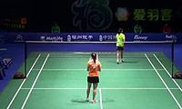 因达农VS惠夕蕊 2014中国公开赛 女单1/16决赛视频