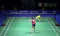 王仪涵VS三谷美菜津 2014中国公开赛 女单1/16决赛视频