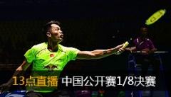 中羽赛1/16战报:林丹谌龙过关8女单晋级 男双小将胜劲敌