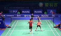 张楠/赵芸蕾VS阿伦茨/皮克 2014中国公开赛 混双1/16决赛视频