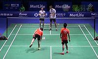 郑思维/陈清晨VS科丁/尤尔 2014中国公开赛 混双1/16决赛视频