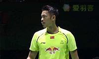 林丹VS约根森 2014中国公开赛 男单1/8决赛视频