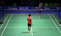 内维尔VS秦金晶 2014中国公开赛 女单1/8决赛视频