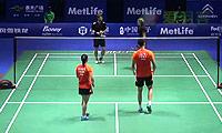 鲁恺/黄雅琼VS福克斯/迈克斯 2014中国公开赛 混双1/8决赛视频