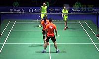 张楠/赵芸蕾VS刘成/包宜鑫 2014中国公开赛 混双1/4决赛视频