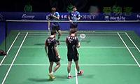 李龙大/柳延星VS高成炫/申白喆 2014中国公开赛 男双半决赛视频