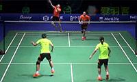 王晓理/于洋VS骆赢/骆羽 2014中国公开赛 女双半决赛视频