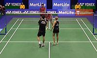乔丹/纳西尔VS阿伦茨/皮克 2014香港公开赛 混双1/16决赛视频