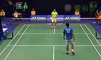波萨那VS高欢 2014香港公开赛 男单1/16决赛视频
