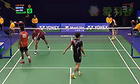 李龙大/柳延星VS普拉塔玛/苏华迪 2014香港公开赛 男双1/16决赛视频