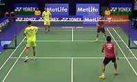 嘉村健士/园田启悟VS刘成/康骏 2014香港公开赛 男双1/16决赛视频