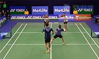 李龙大/李绍希VS福克斯/迈克斯 2014香港公开赛 混双1/8决赛视频