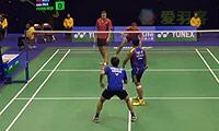 伊万诺夫/索松诺夫VS费尔纳迪/基多 2014香港公开赛 男双1/8决赛视频