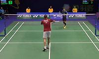 孙完虎VS阿萨尔森 2014香港公开赛 男单1/4决赛明仕亚洲官网