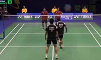 阿山/塞蒂亚万VS数野健太/山田和司 2014香港公开赛 男双1/4决赛视频