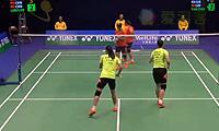 骆赢/骆羽VS包宜鑫/王晓理 2014香港公开赛 女双1/4决赛视频
