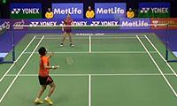 刘鑫VS三谷美菜津 2014香港公开赛 女单1/4决赛视频