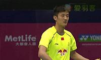 谌龙VS斯里坎特 2014香港公开赛 男单半决赛视频