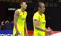 张楠/赵芸蕾VS爱德考克/加布里 2014香港公开赛 混双半决赛视频
