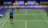 斯里坎特VS魏楠 2014香港公开赛 男单1/4决赛视频