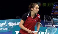 吉尔莫VS埃莉诺 2014苏格兰公开赛 女单1/4决赛视频