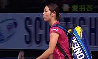 佐藤冴香VS吉尔莫 2014苏格兰公开赛 女单半决赛视频