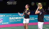加夫列拉/斯托伊娃VS班克尔/吉尔莫 2014苏格兰公开赛 女双半决赛视频