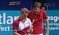 克里斯蒂安森/大卫VS诺丁汉/哈雷托勒 2014苏格兰公开赛 男双半决赛视频