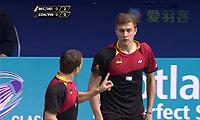 拉斐尔/安德烈亚斯VS洛朗/马蒂厄 2014苏格兰公开赛 男双半决赛视频