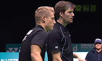克里斯蒂安森/大卫VS拉斐尔/安德烈亚斯 2014苏格兰公开赛 男双决赛视频