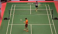 孙瑜VS菲尔达萨里 2014澳门公开赛 女单1/4决赛视频