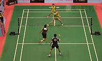 普拉塔瑪/蘇華迪VS博世/田子杰 2014澳門公開賽 男雙1/8決賽視頻