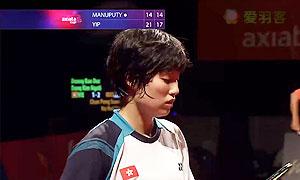 叶姵延VS玛努布蒂 2014亚通杯 女单资格赛视频