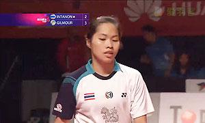 因达农VS吉尔莫 2014亚通杯 女单资格赛视频