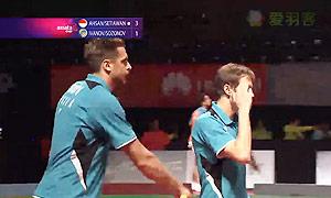 阿山/塞蒂亚万VS伊万诺夫/索松诺夫 2014亚通杯 男双资格赛视频
