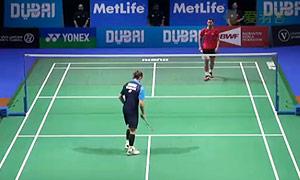 约根森VS苏吉亚托 2014世界羽联总决赛 男单资格赛视频