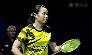戴资颖VS因达农 2014世界羽联总决赛 女单资格赛视频