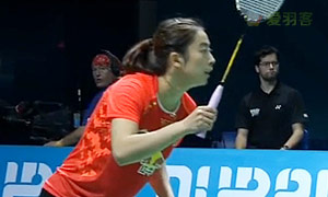 内维尔VS王适娴 2014世界羽联总决赛 女单资格赛视频