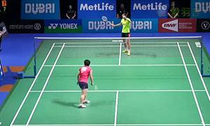 山口茜VS王仪涵 2014世界羽联总决赛 女单资格赛视频