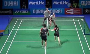 高成炫/金荷娜VS爱德考克/加布里 2014世界羽联总决赛 混双资格赛视频