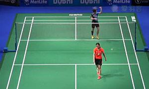 裴延姝VS王适娴 2014世界羽联总决赛 女单资格赛视频