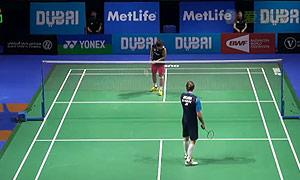 桃田贤斗VS约根森 2014世界羽联总决赛 男单资格赛视频