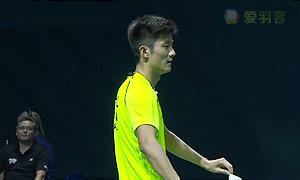 谌龙VS维汀哈斯 2014世界羽联总决赛 男单资格赛视频