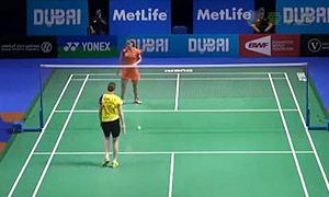 内维尔VS成池铉 2014世界羽联总决赛 女单资格赛视频