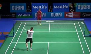 维汀哈斯VS田儿贤一 2014世界羽联总决赛 男单资格赛视频
