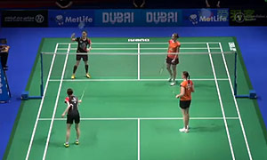 郑景银/金荷娜VS佩蒂森/尤尔 2014世界羽联总决赛 女双资格赛视频