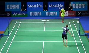 成池铉VS王适娴 2014世界羽联总决赛 女单资格赛视频
