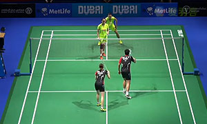 刘小龙/邱子瀚VS鲍伊/摩根森 2014世界羽联总决赛 男双资格赛视频